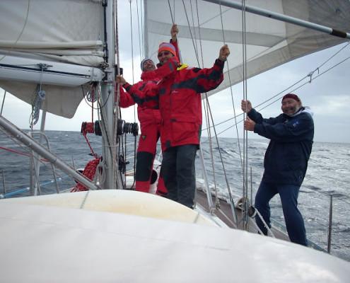 equipaggio traversata atlantica