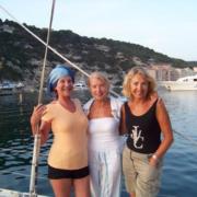 settimana in barca in Sardegna equipaggio femminile