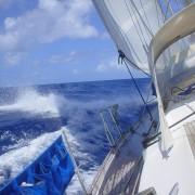 barca a vela in traversata atlantica