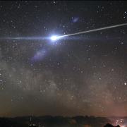 meteorite in mare