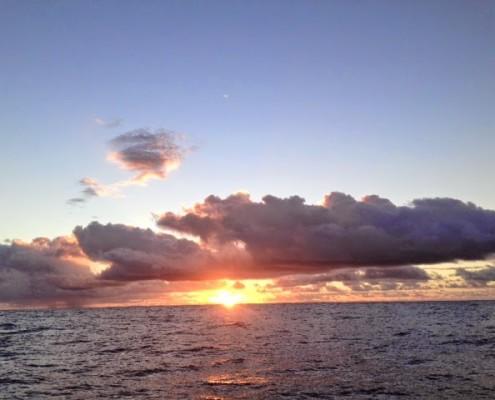 Alba in oceano
