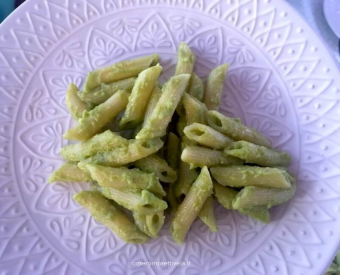 Pasta all'avocado