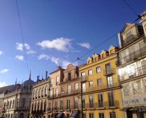 Palazzi a Lisbona
