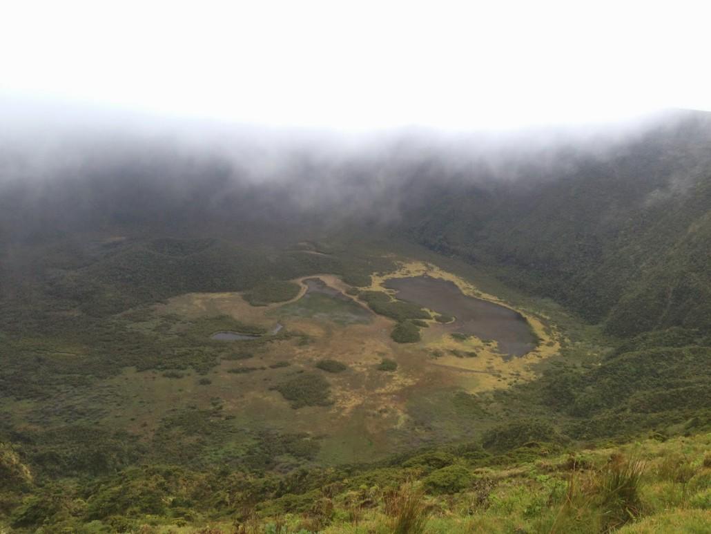 isole azzorre faial cratere vulcanico