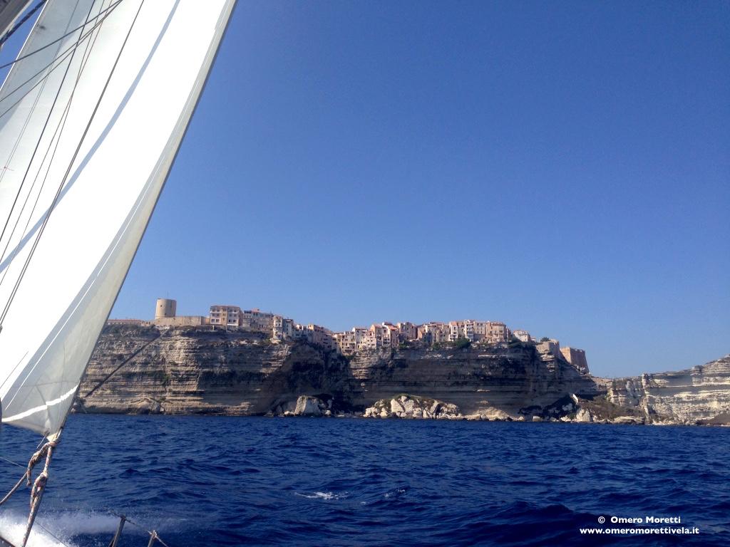 bonifacio corsica barca a vela