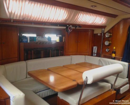 interni barca a vela Freya