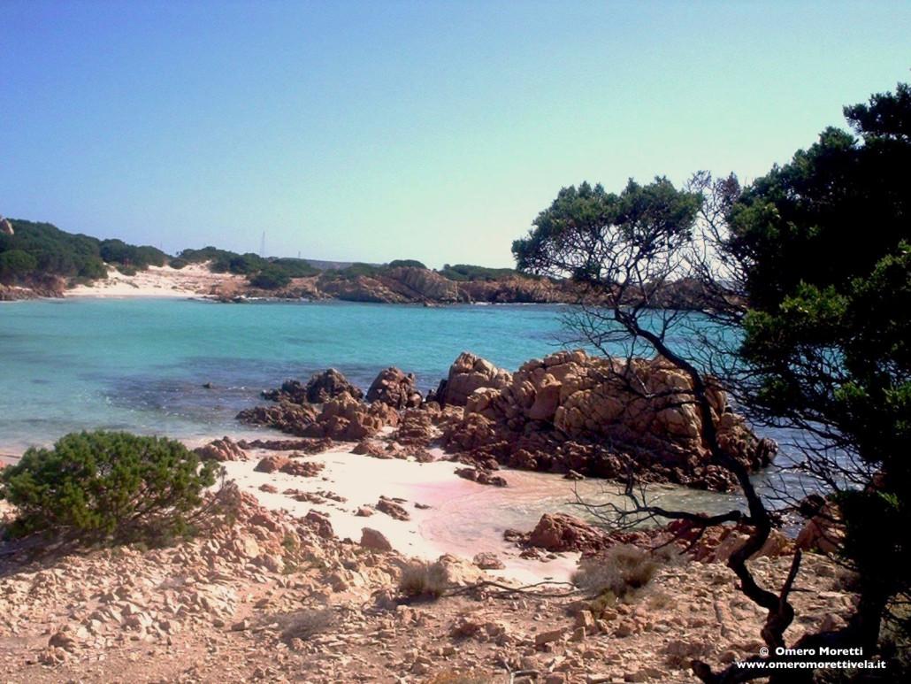Spiaggia rosa a Budelli