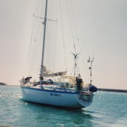 Barca a vela Helene