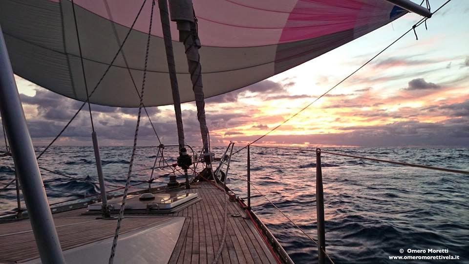 traversata atlantica gennaker