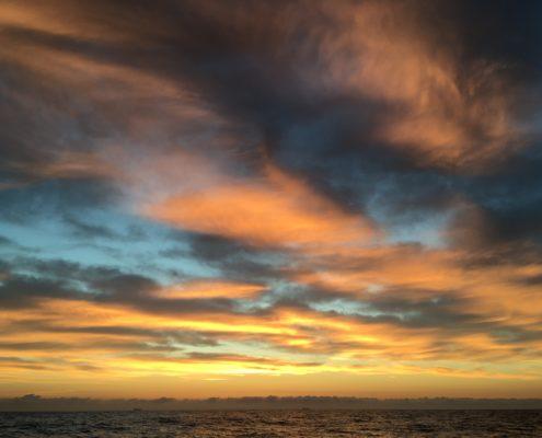 alba in navigazione