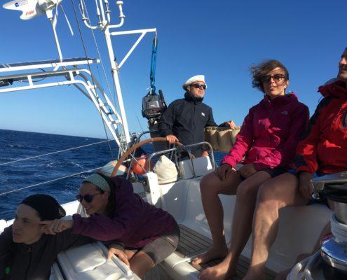 equipaggio navigazione dalla toscana alla sardegna sbandato