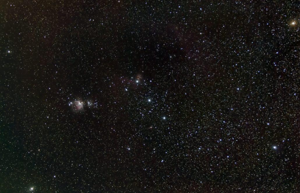 costellazione di orione stelle