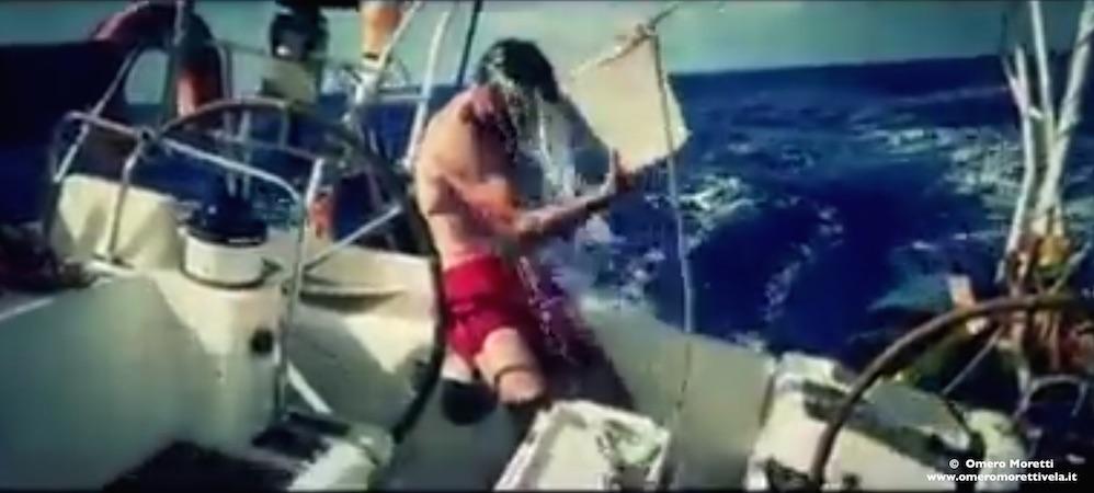 traversata atlantica doccia in oceano barca a vela adatta all'oceano