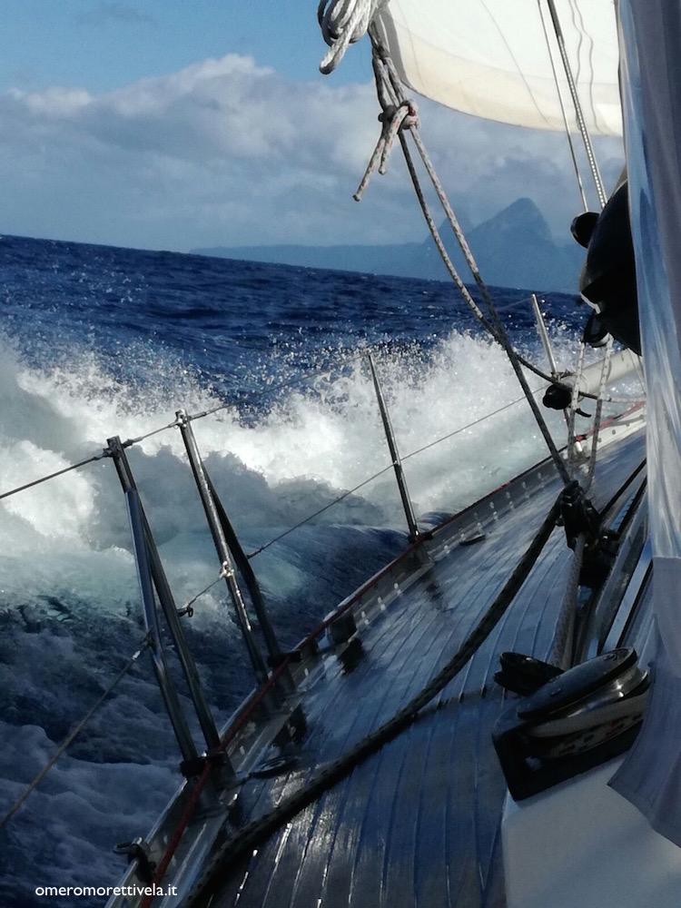 terra in vista inverno ai caraibi barca a vela freya bolina