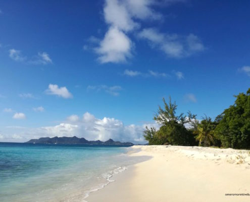 crociere ai caraibi in barca a vela spiaggia