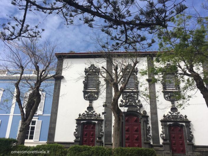 Sao Miguel Ponta Delgada palazzo azzurro