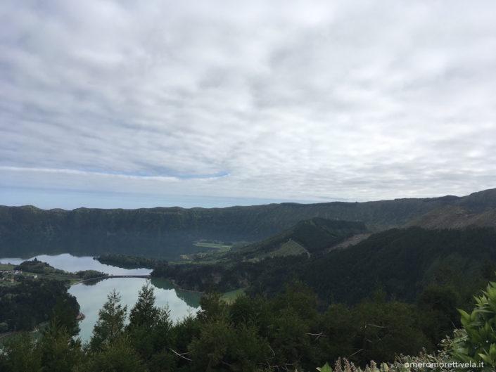 Sao Miguel lago verde e lago blu