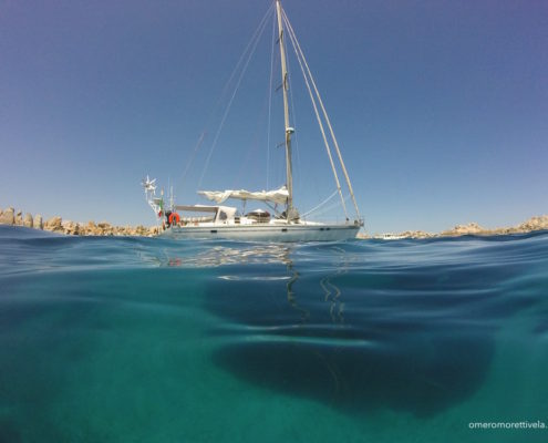settimana di vela in Sardegna Freya a Lavezzi