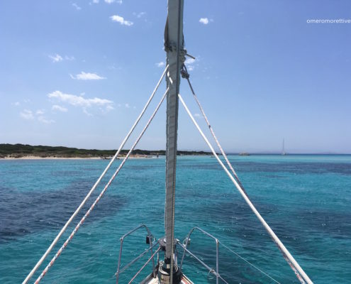 settimana a vela in Sardegna isola piana corsica