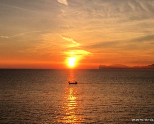 sardegna nord occidentale alghero tramonto