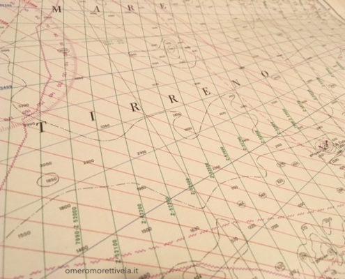 carte nautiche loran tirreno