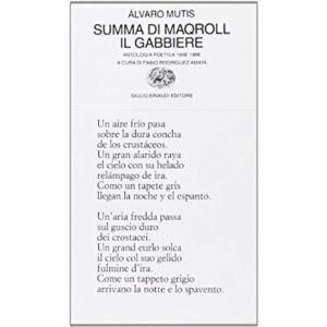 Summa di Maqroll il Gabbiere sognatore di navi