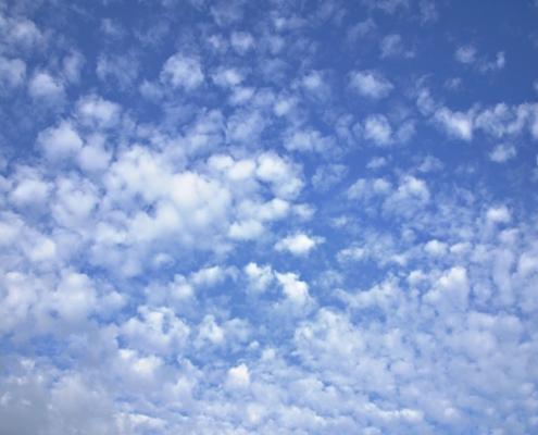 Prevedere il tempo osservando il cielo altocumuli cielo a pecorelle