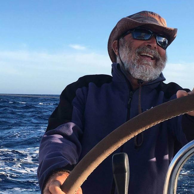 omero moretti skipper vacanze in barca a vela