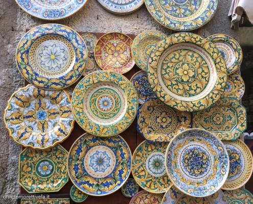 Sicilia in barca a vela ceramiche di erice