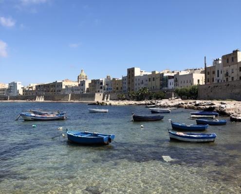 Sicilia in barca a vela trapani bastioni