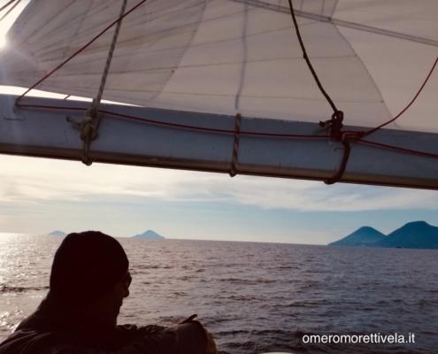 scuola vela in Mediterraneo eolie