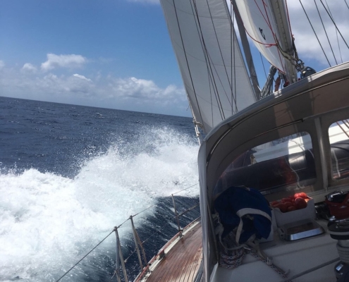 golfo di napoli in barca a vela navigazione