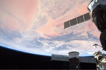 nave spaziale atlantico deserti