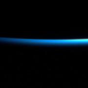 nave spaziale atlantico tramonto