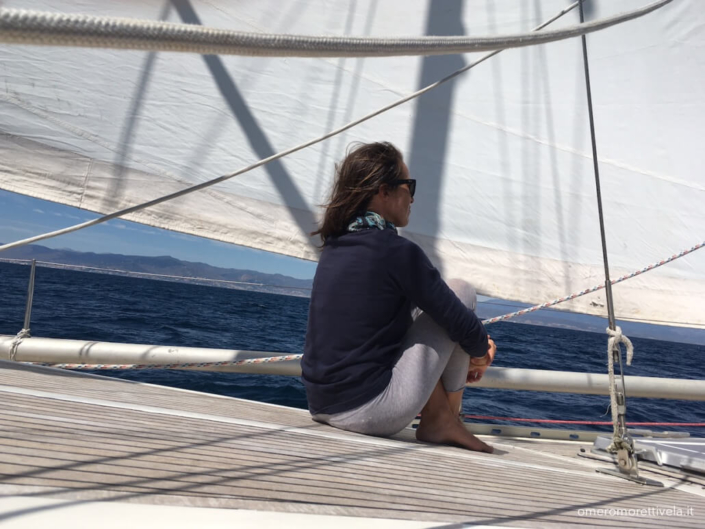 vacanze in barca a vela marinaio hostess