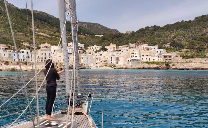 vacanze in barca a vela sicilia egadi levanzo