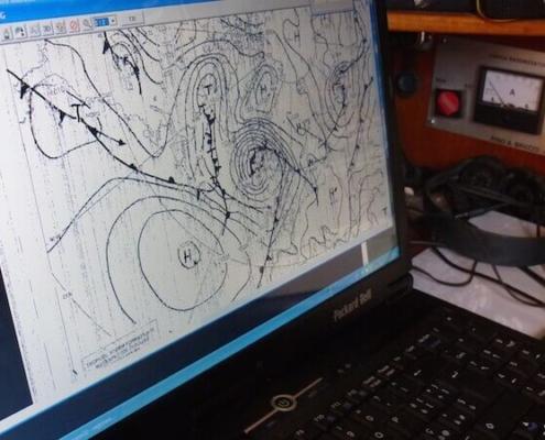 navigazione d'altura meteorologia