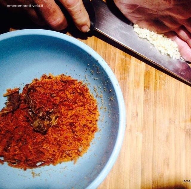 ricetta spaghetti alla bottarga cucinare in barca