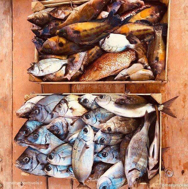 cucinare in barca pesce fresco