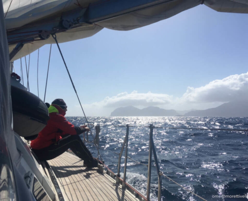 scuola vela in Mediterraneo navigazione