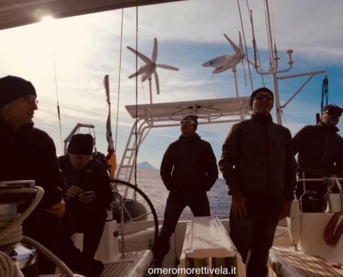 scuola vela in Mediterraneo equipaggi omero moretti