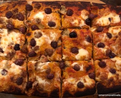 ricetta per pizza in barca