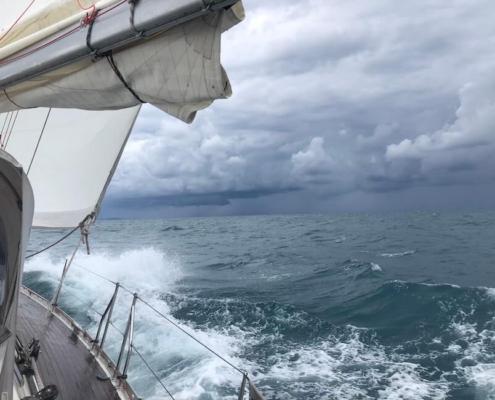 navigazione con brutto tempo