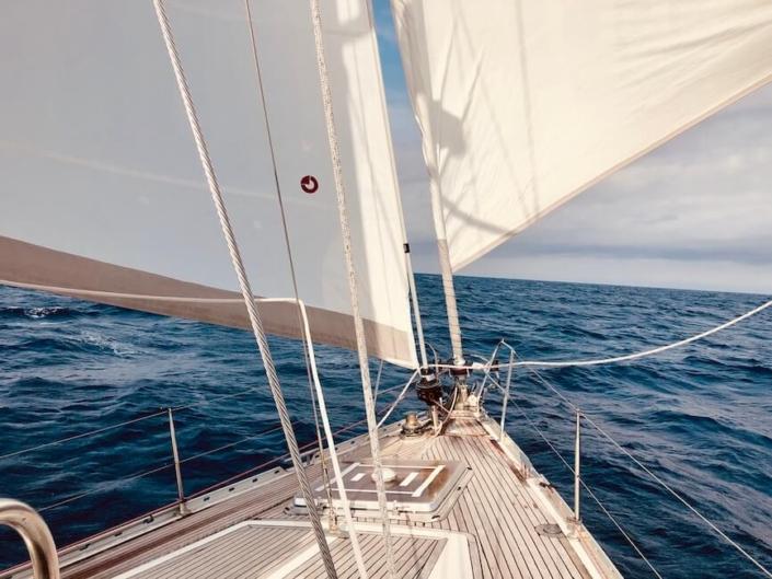navigazione in Mediterraneo